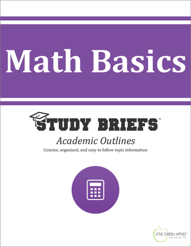 Math Basics  N/A 9781634262491 Front Cover
