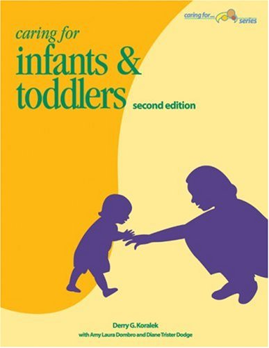 Caring for Infants & Toddlers  2nd 2005 edition cover