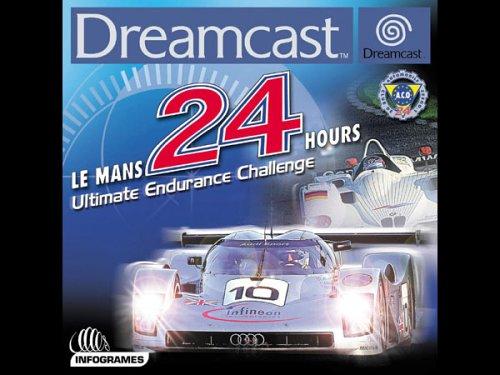 Le Mans 24 Hours Sega Dreamcast artwork