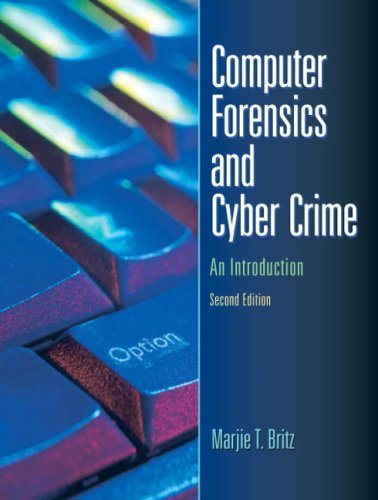 Computer Forensics and Cyber Crime An Introduction 2nd 2009 edition cover