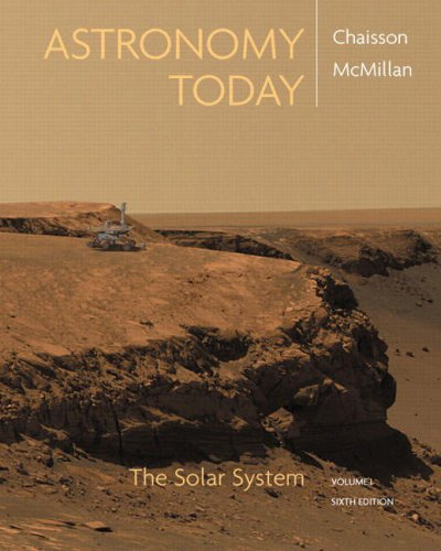 Astronomy Today The Solar System 6th 2008 9780136155492 Front Cover