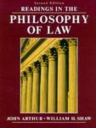 Readings in the Philosophy of Law  2nd 1993 9780137538492 Front Cover