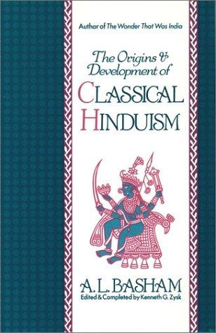 Origins and Development of Classical Hinduism   1991 edition cover
