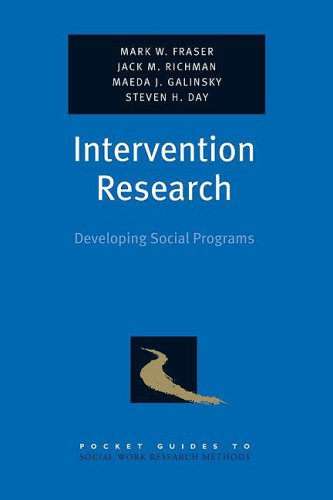 Intervention Research Developing Social Programs  2009 edition cover
