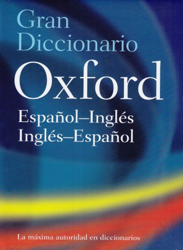 Gran Diccionario Oxford  4th 2008 edition cover