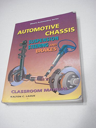 Automotive Chassis : Suspension, Steering, and Brakes N/A 9780314045492 Front Cover