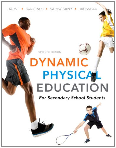Dynamic Physical Education for Secondary School Students  7th 2012 edition cover