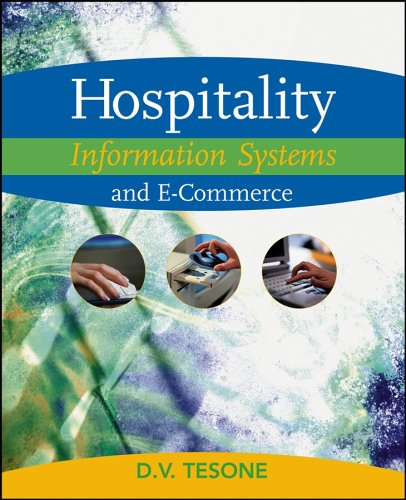 Hospitality Information Systems and E-Commerce   2006 9780471478492 Front Cover
