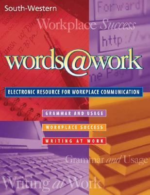 Words@Work   2000 9780538690492 Front Cover
