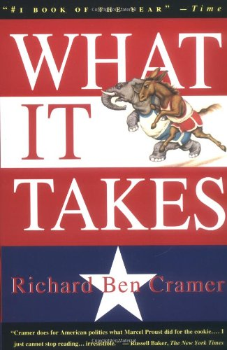 What It Takes The Way to the White House  1993 edition cover