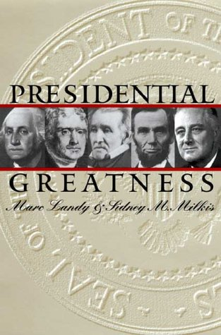 Presidential Greatness   2000 edition cover