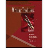Writing Traditions 3rd 2005 (Revised) 9780757521492 Front Cover