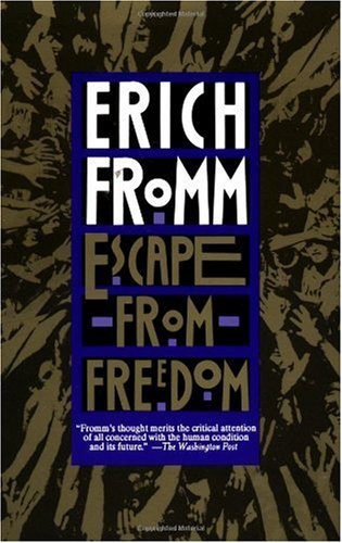 Escape from Freedom  Revised  edition cover