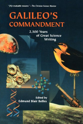 Galileo's Commandment 2,500 Years of Great Science Writing N/A edition cover