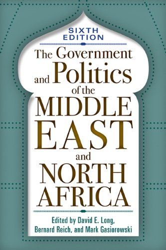 Government and Politics of the Middle East and North Africa  6th 2010 edition cover