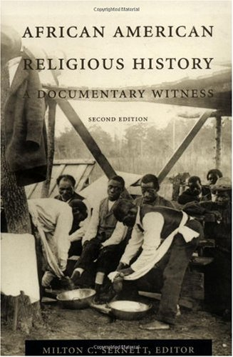 African American Religious History A Documentary Witness 2nd 1999 edition cover