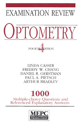 MEPC Optometry 4th 1994 (Revised) 9780838574492 Front Cover