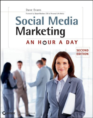 Social Media Marketing An Hour a Day 2nd 2012 edition cover