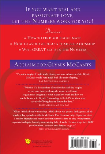 Love by the Numbers How to Find Great Love or Reignite the Love You Have Through the Power of Numerology  2009 9781402224492 Front Cover