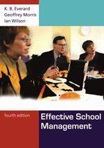 Effective School Management  4th 2004 (Revised) edition cover