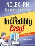 NCLEX-RN� Questions and Answers  6th 2013 (Revised) edition cover