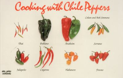 Cooking with Chile Peppers  Revised  9781558671492 Front Cover