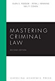 Mastering Criminal Law  2nd 2015 edition cover