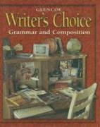 Writer's Choice Grammar and Composition 3rd 2001 (Student Manual, Study Guide, etc.) 9780028181493 Front Cover