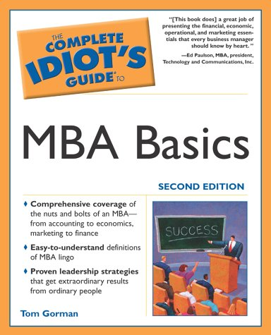 MBA Basics  2nd 2003 9780028644493 Front Cover