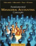 FUND.MANAGERIAL ACCT.CONCEPTS N/A edition cover