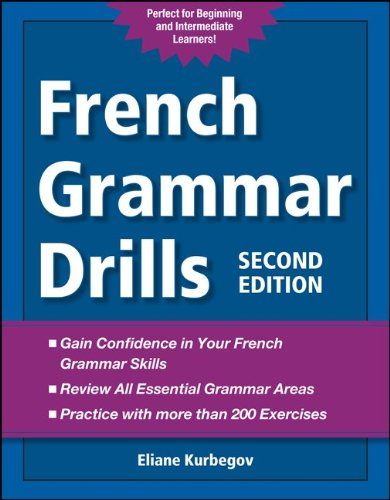 French Grammar Drills  2nd 2012 edition cover