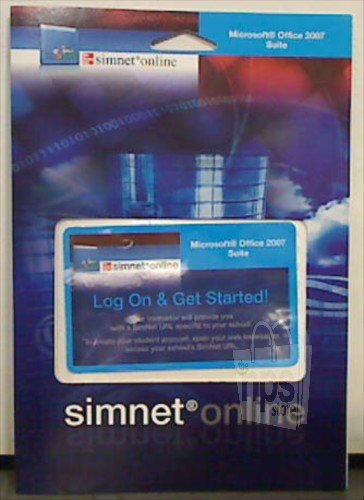 SIMNET F/MC OFFICE 2010:REGIST N/A edition cover