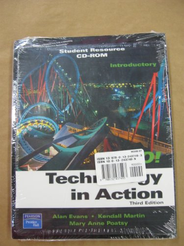 Technology in Action: 3rd 2007 edition cover