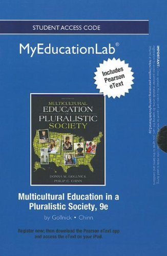 Multicultural Education in a Pluralistic Society  9th 2013 edition cover