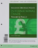 International Trade Theory and Policy, Student Value Edition 10th 2015 edition cover