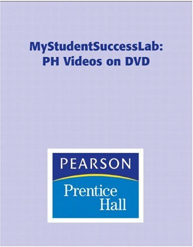 My Student Success Lab  2009 9780135142493 Front Cover