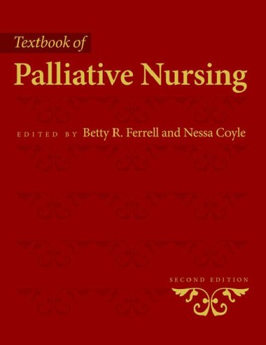 Textbook of Palliative Nursing  2nd 2004 (Revised) edition cover
