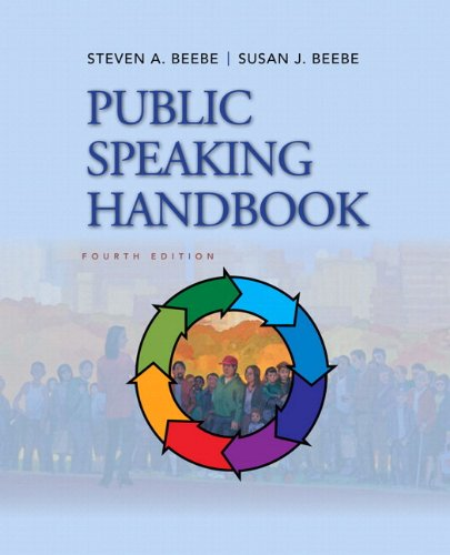 Public Speaking Handbook Plus NEW MyCommunicationLab with EText  4th 2013 edition cover