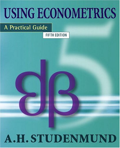 Using Econometrics A Practical Guide 5th 2006 (Revised) edition cover