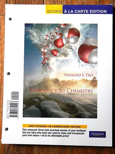 Introductory Chemistry, Books a la Carte Edition  4th 2012 edition cover