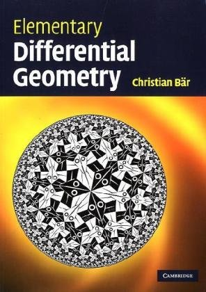 Elementary Differential Geometry   2010 edition cover