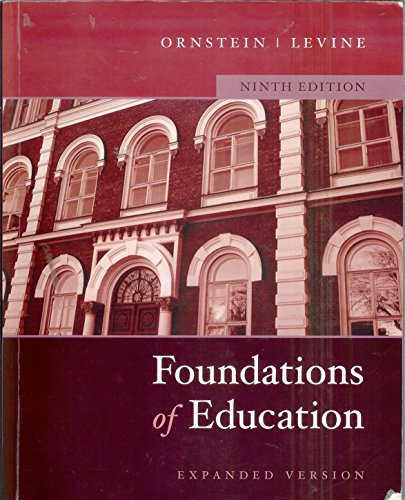 FOUNDATIONS OF EDUC.-EXP.VER. 9th 2006 9780618883493 Front Cover