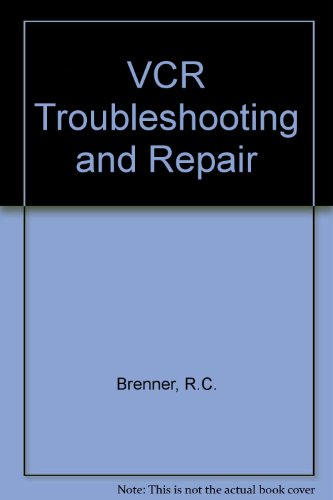 VCR Troubleshooting and Repair  2nd 9780672227493 Front Cover