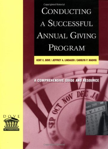 Conducting a Successful Annual Giving Program   2001 edition cover