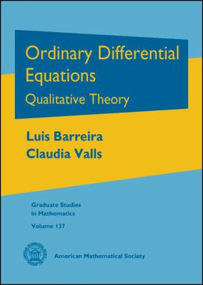 Ordinary Differential Equations Qualitative Theory  2010 edition cover