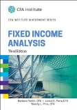 Fixed Income Analysis  3rd 2015 edition cover