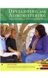 Cengage Advantage Books: Developing and Administering a Child Care and Education Program  8th 2013 edition cover