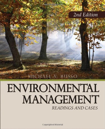 Environmental Management Readings and Cases 2nd 2008 edition cover