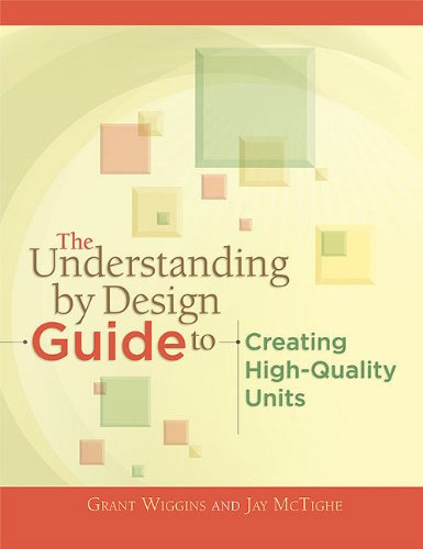 Understanding by Design Guide to Creating High-Quality Units   2011 9781416611493 Front Cover