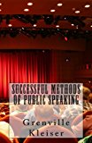 Successful Methods of Public Speaking  N/A 9781490996493 Front Cover